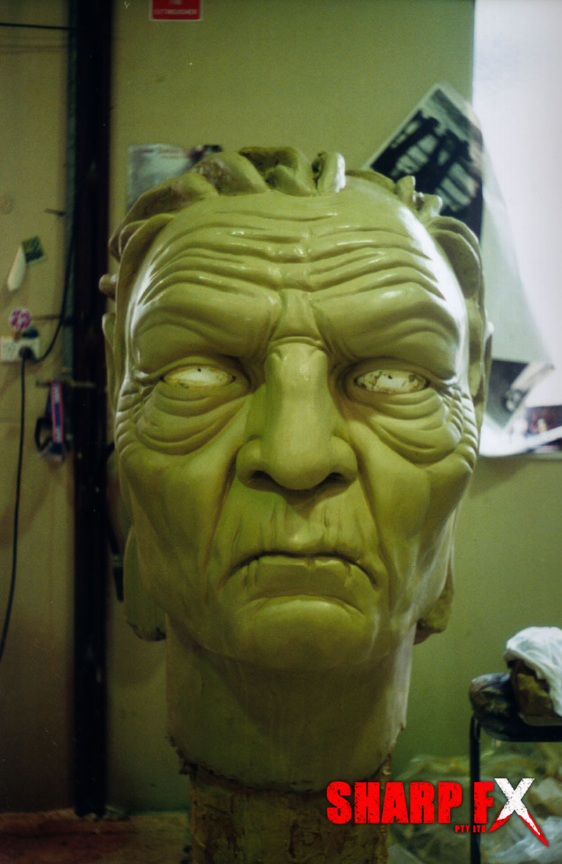 Old Man Head Sculpt