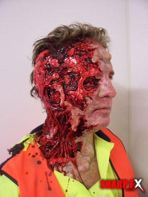 Gore prosthetic Makeup Effects Studio