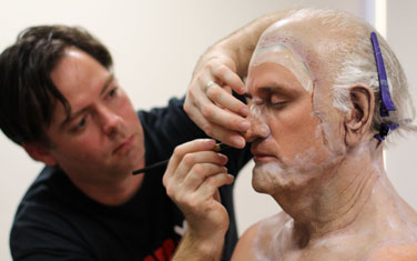 Special Effects Makeup - Behind The Scenes