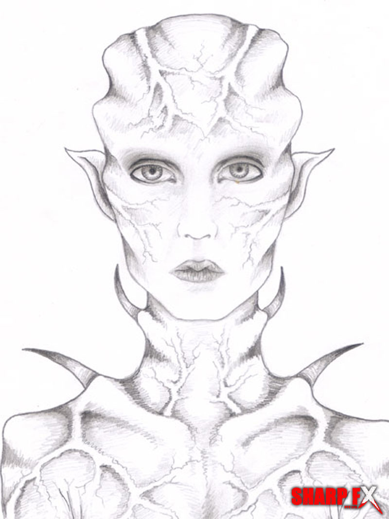 female-alien-design