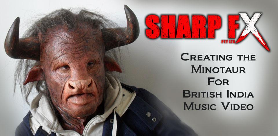 Prosthetic Makeup Creating the Minotaur