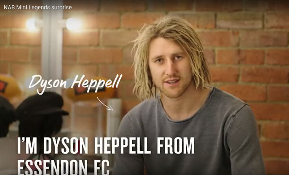 Dyson Heppell Surprise Makeup