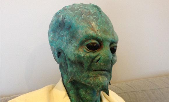 September-87 Alien prosthetic